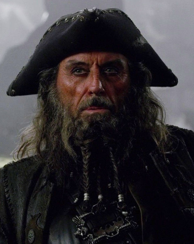 Blackbeard Pirates Of The Caribbean