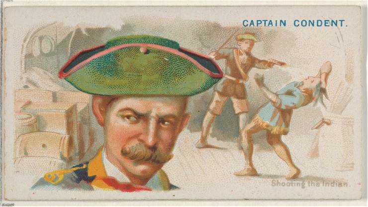 Captain Condent Shooting The Indian