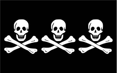 Christopher Condent Pirate Flag