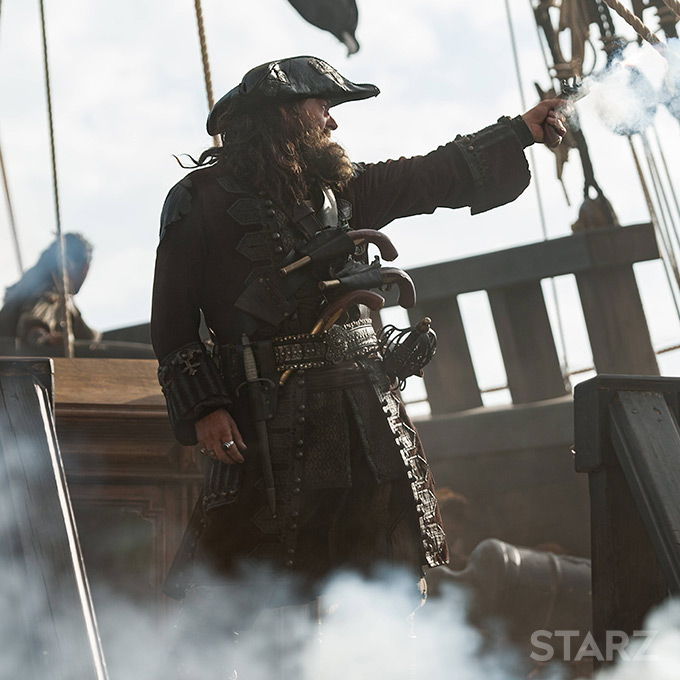 Edward Teach Black Sails