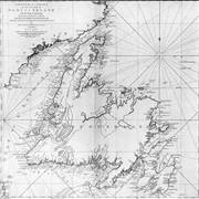 James Cooks' general chart of Newfoundland
