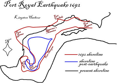 Picture Of 1692 Port Royal Earthquake