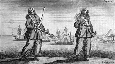 Picture Of Anne Bonny And Mary Read