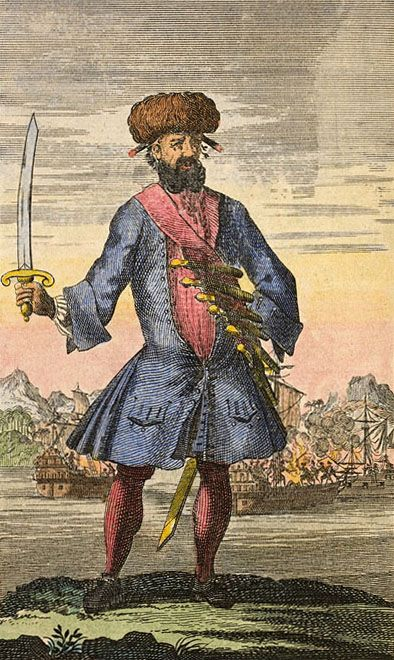 Picture Of Blackbeard The Most Notorious Pyrate