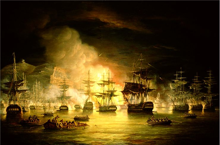 Picture Of Bombardment Of Algiers