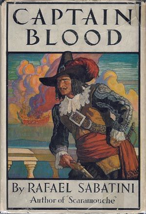 Picture Of Captain Blood Fictional Pirate