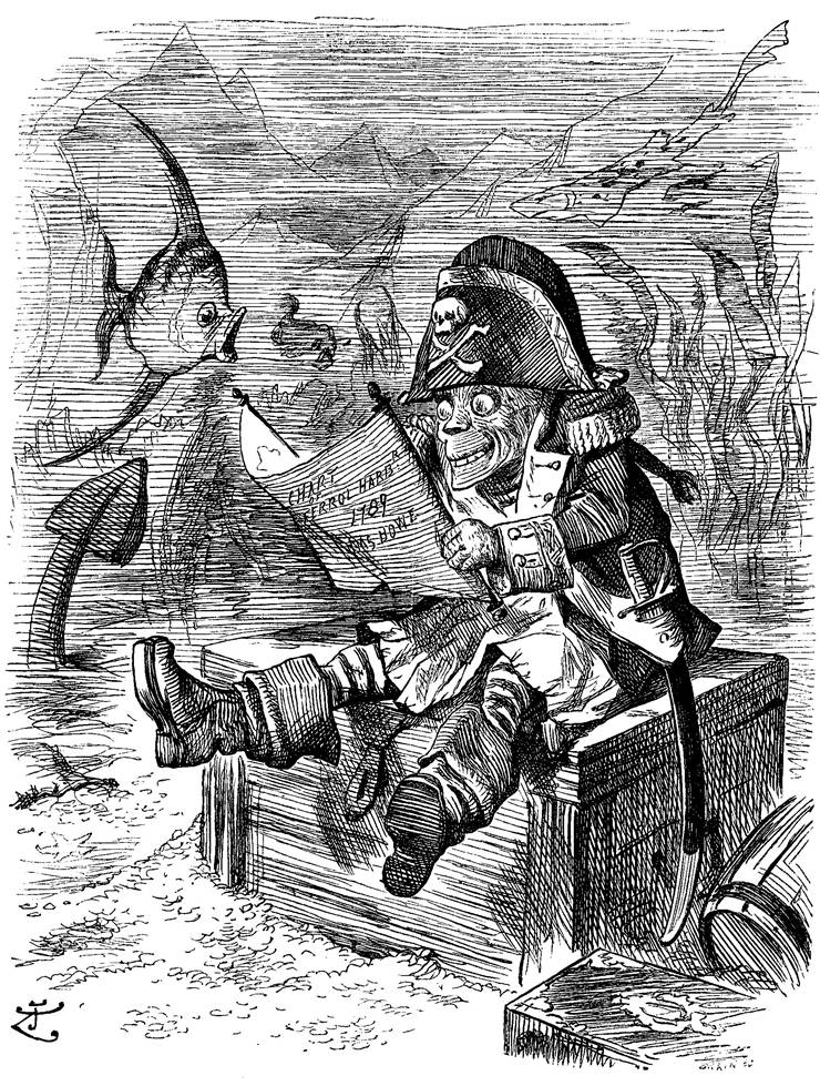 Picture Of Davy Joness Locker By John Tenniel 1892