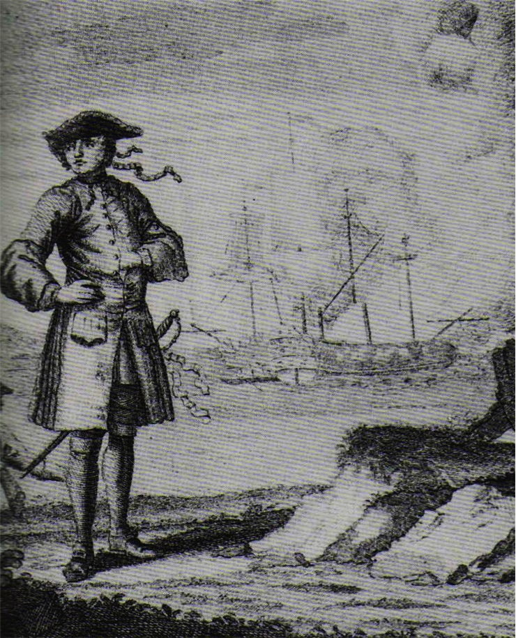 Picture Of Edward England Pirate Captain