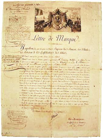 Picture Of Example Of Letter Of Marque