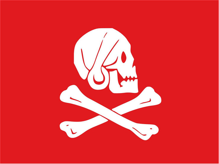 Picture Of Flag Of Henry Every Red Version