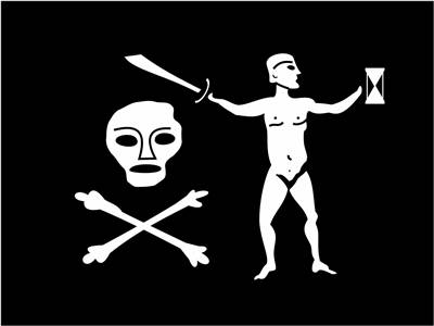 Picture Of Flag Of Pirate Captain Dulaien