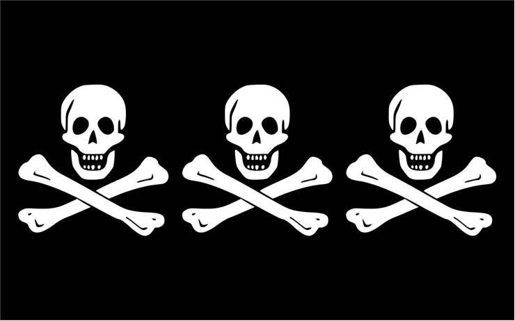 Picture Of Flag Of Pirate Christopher Condent