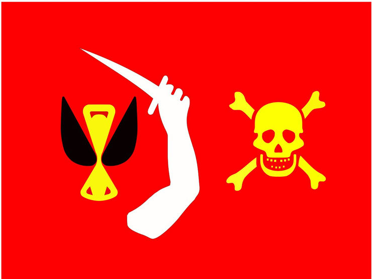 Picture Of Flag Of Pirate Christopher Moody