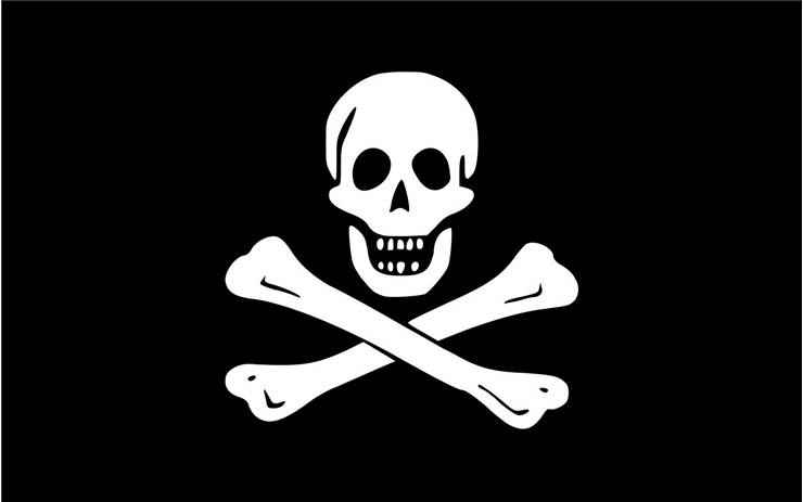 Picture Of Flag Of Pirate Edward England
