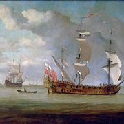 Picture Of Galley Frigate 1670