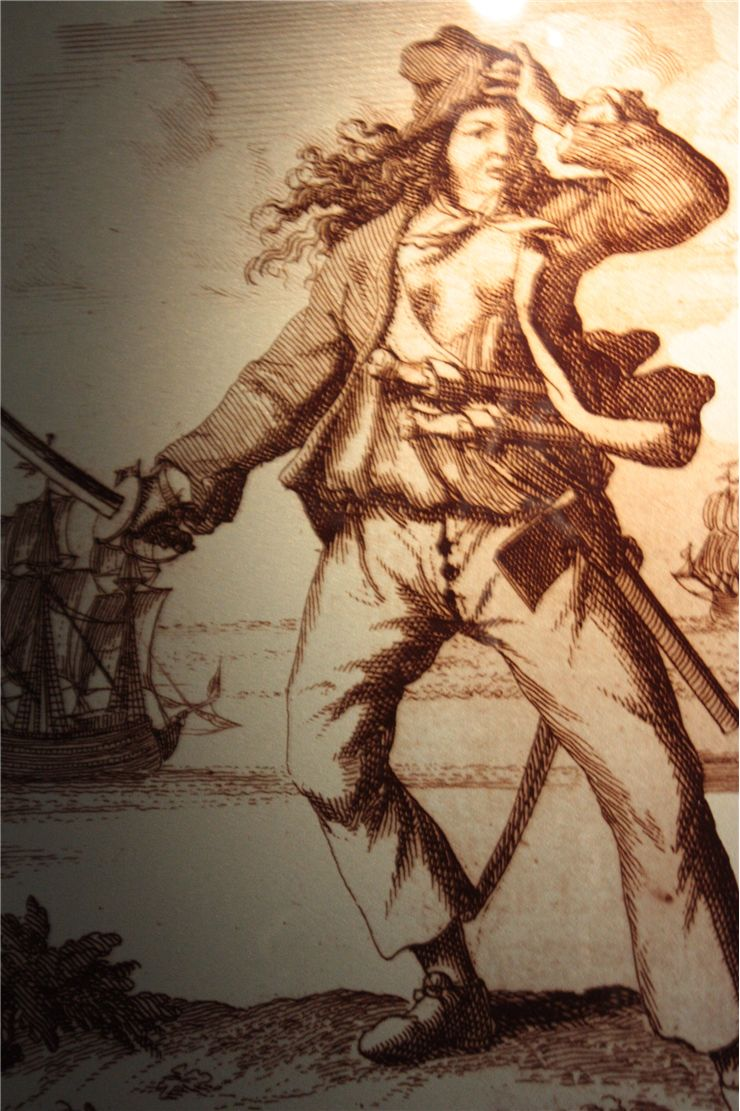 Picture Of Mary Read English Pirate