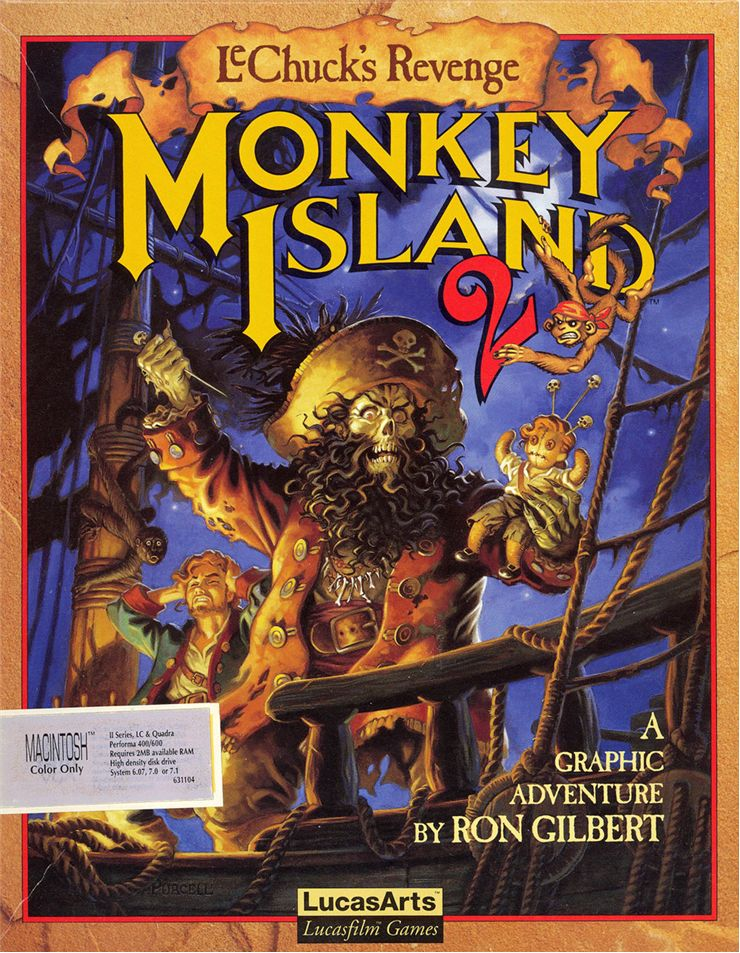 Picture Of Monkey Island 2
