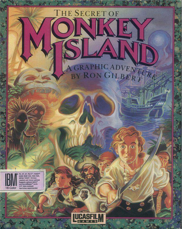 Picture Of Monkey Island