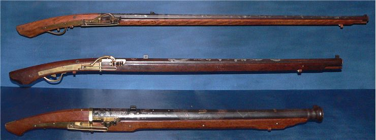 Picture Of Muskets