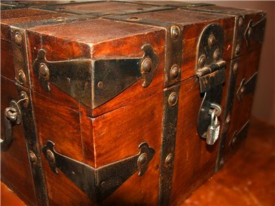 Picture Of Old Treasure Chest