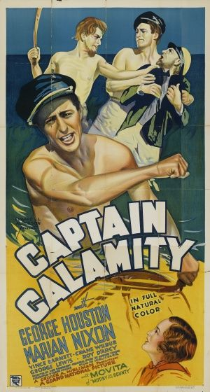 Original Film Poster For Captain Calamity