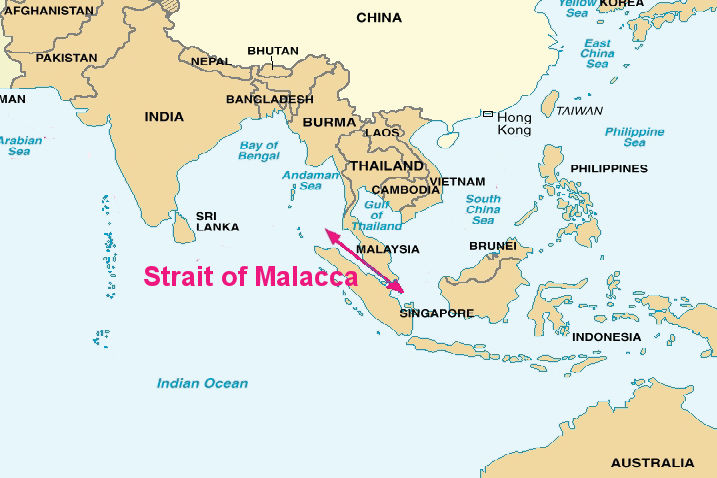 Picture Of Piracy In The Strait Of Malacca