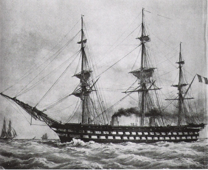 Picture Of Ship Of The Line Battleship