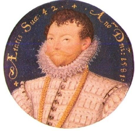 Picture Of Siir Francis Drake Portrait Miniature