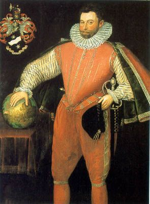 Picture Of Sir Francis Drake 16th Century