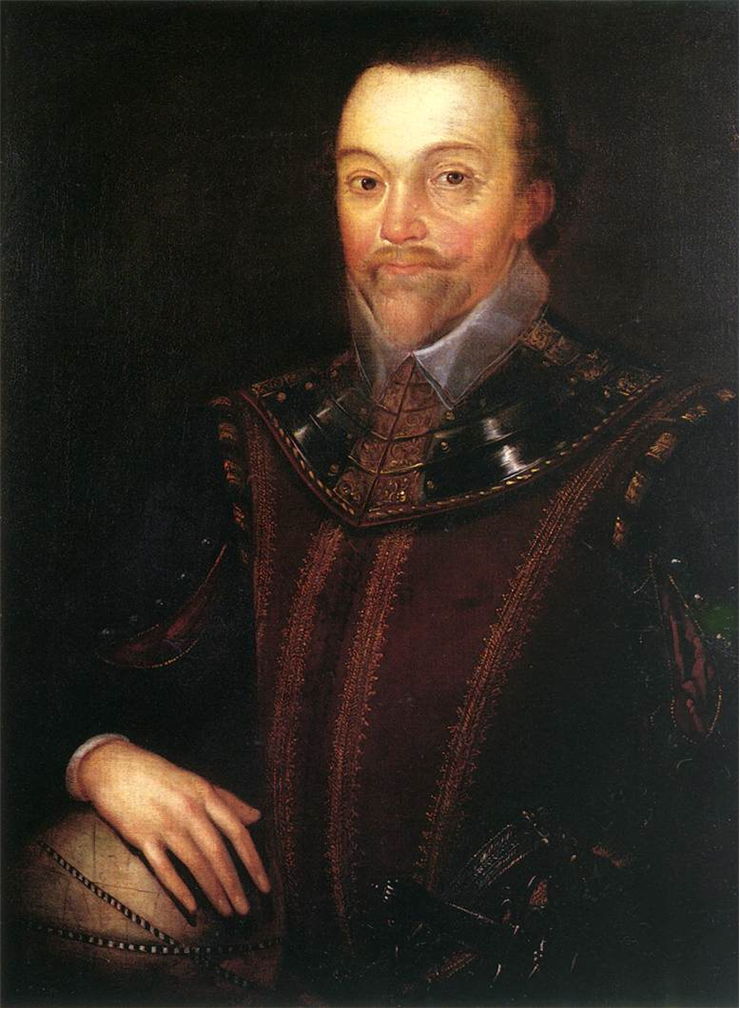 Picture Of Sir Francis Drake