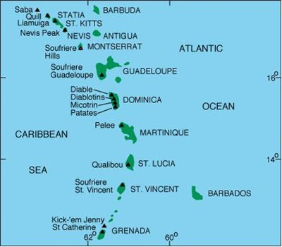 Picture Of The Caribbean Islands West Indies