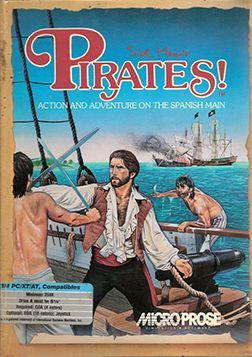 The Cover Art For Sid Meier's Pirates!