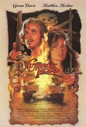 Theatrical Release Poster By Drew Struzan For Cutthroat Island