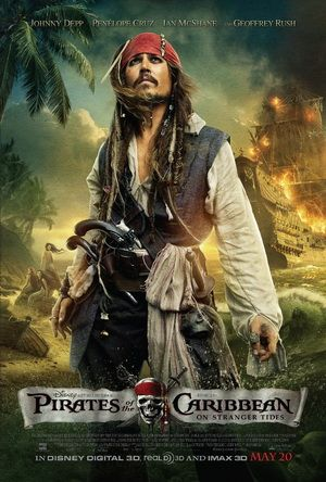 Theatrical Release Poster For Pirates Of The Caribbean On Stranger Tides