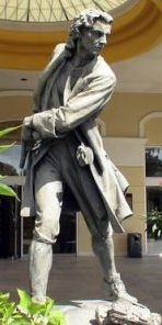 Picture Of Woodes Rogers Statue
