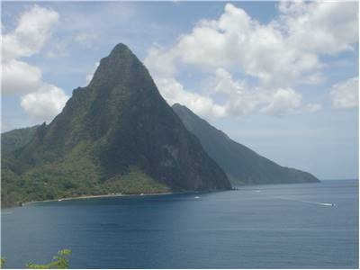 Windward Islands - The Pitons at Soufriere Saint Lucia